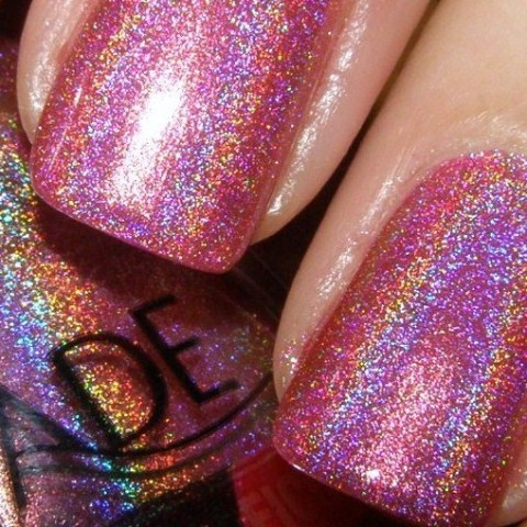 holographic close-up