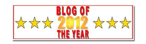 Blog of the Year Award banner