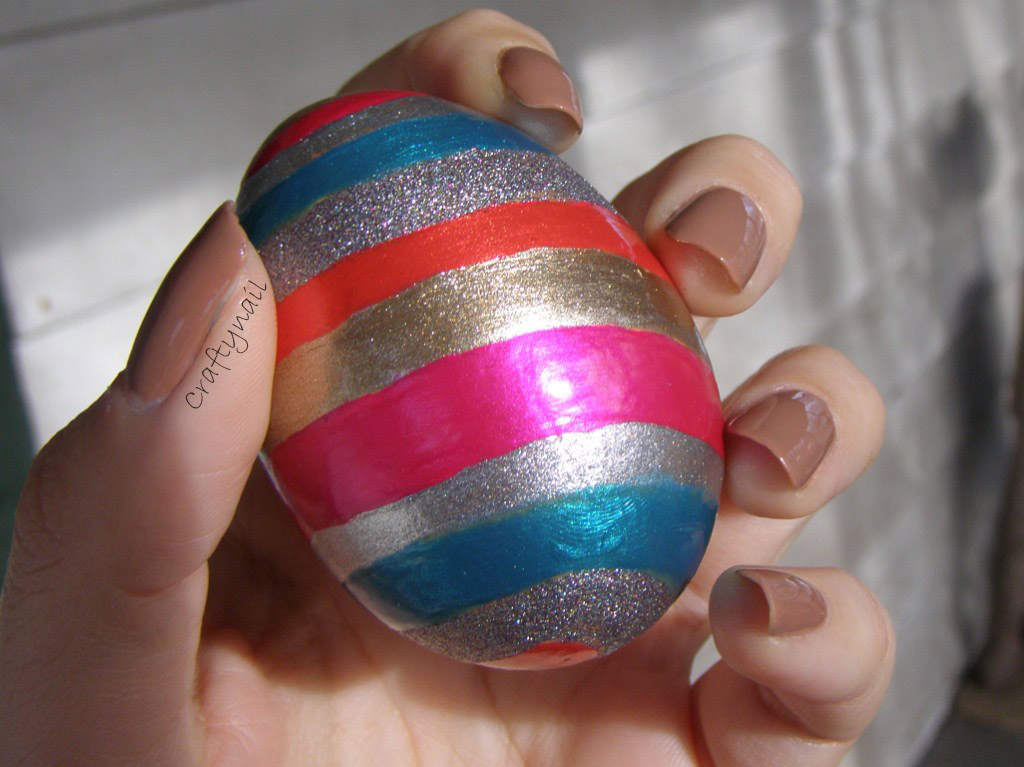 How To Decorate Easter Eggs With Nail Polish Craftynail