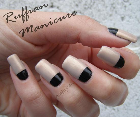 Craftynail: Ruffian Manicure
