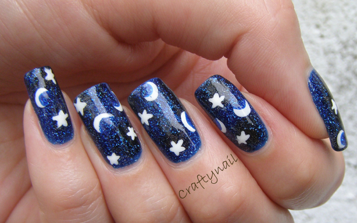 Celestial Nails Craftynail