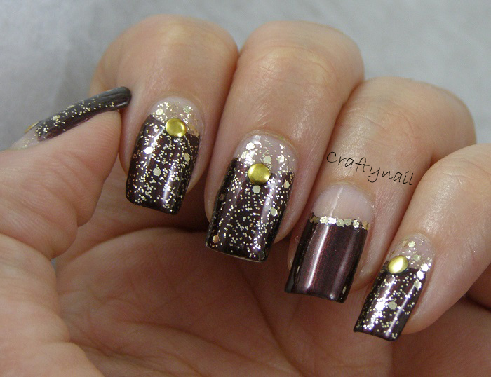 Masquerade Nails Craftynail