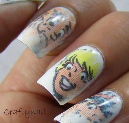 Newspaper Nails Craftynail