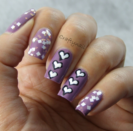 hearts-manicure