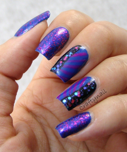 purple_blue_glitter_nail_art