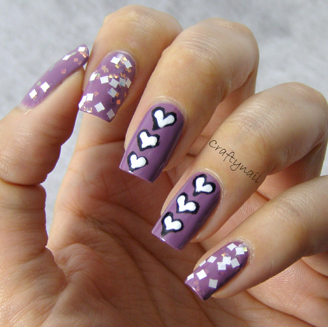 Heart Nail Art: Heart Nail Designs