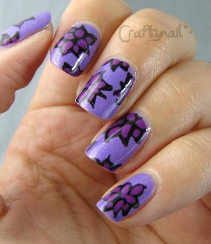 essence_purple_floral_nails