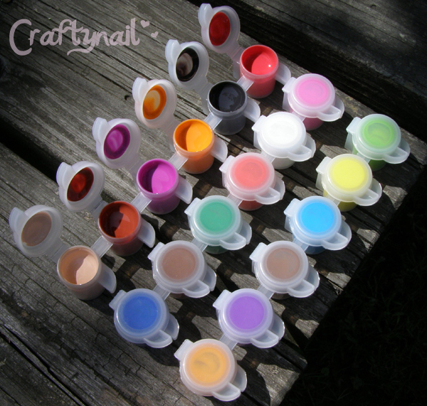 Crayola Washable Kids Paint For Nail Art Craftynail