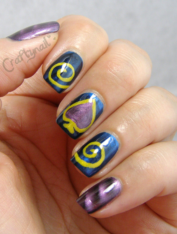 Craftynail: Nail Art Ideas Linkup- Games And Apps Theme!