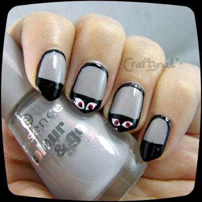 bump in the night nail art