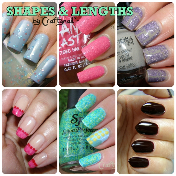 nail shapes by craftnail