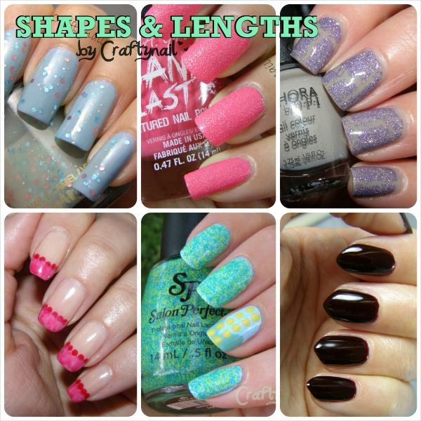 nail shapes by craftnail