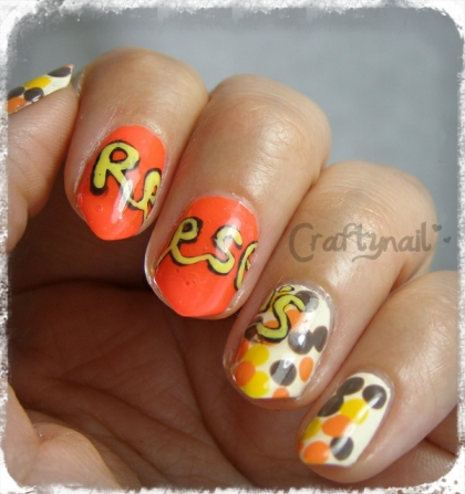 reeses pieces nails