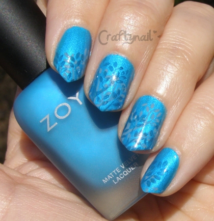 blue tree mani