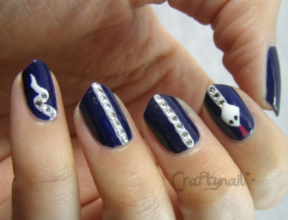 craftynail snake nails