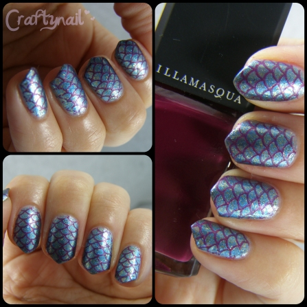 nails with scales