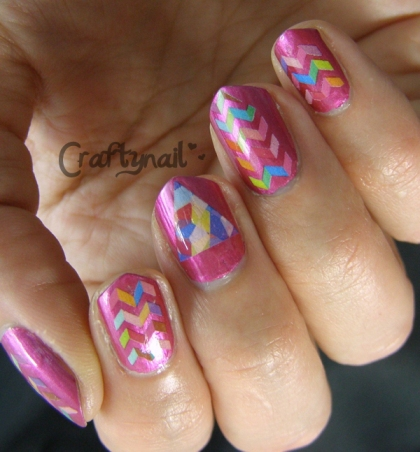 pretty pink water slide decals
