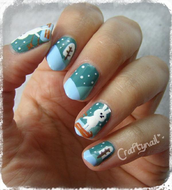 Craftynail: Holiday Nail Art Challenge
