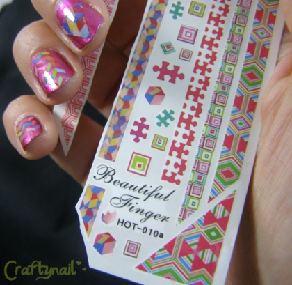 water slide decals