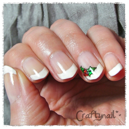 christmas holly diy decals