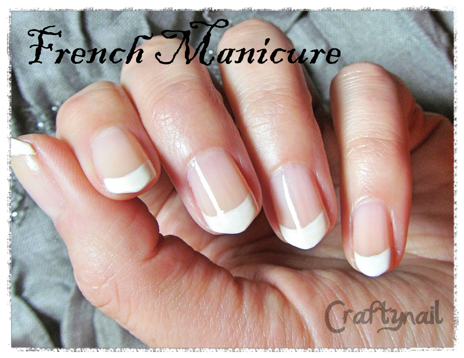 my long-lasting frenchie | Craftynail