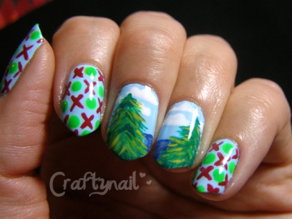 holiday memories nails