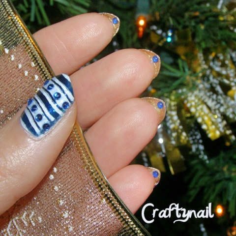 underside manicure by craftynail