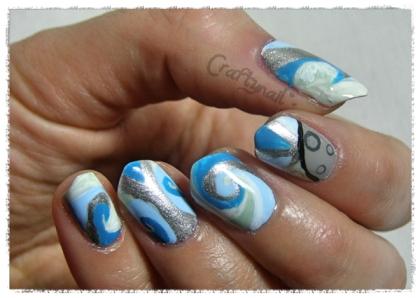 winter solstice nails