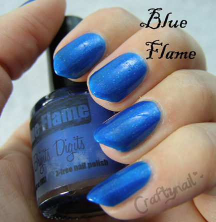 Brijits Digits Blue Flame