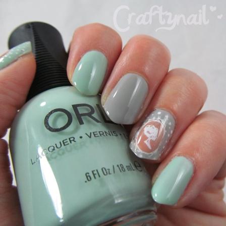cameo nail art