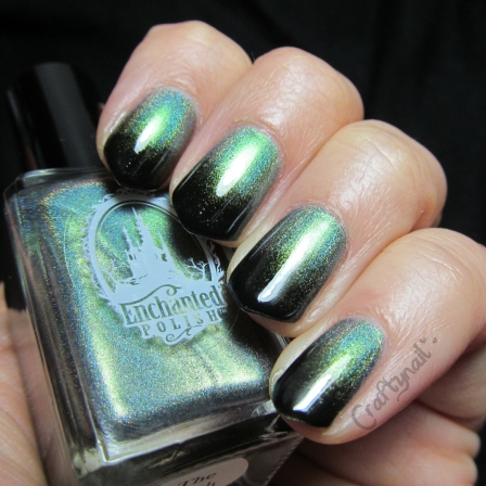 enchanted holo polish gradient