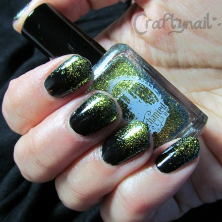 hello new york black and gold gradient