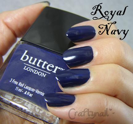 butter london royal navy