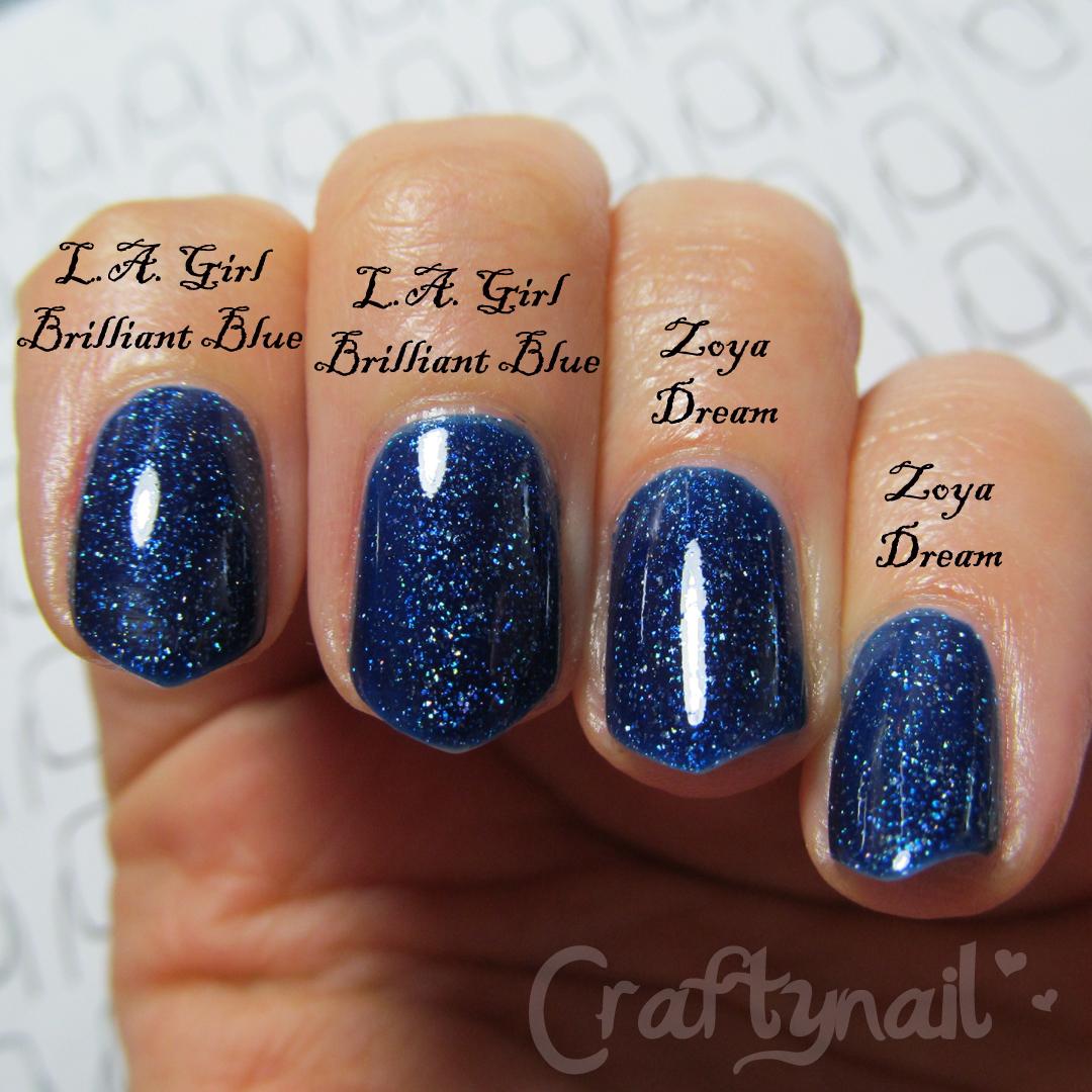 Craftynail: Brilliant Blue