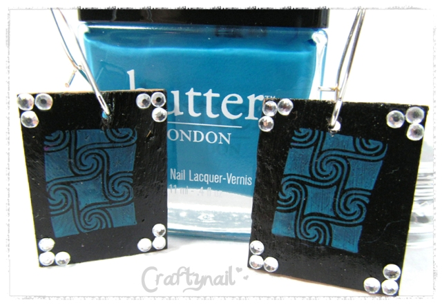 butter london earrings