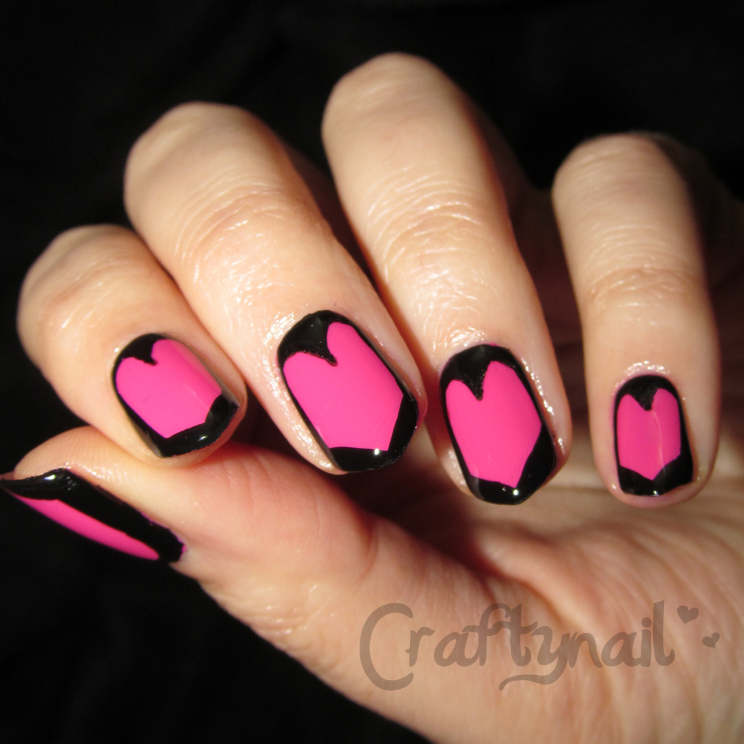 Heart Nails Craftynail