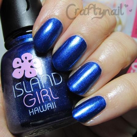 island girl blue