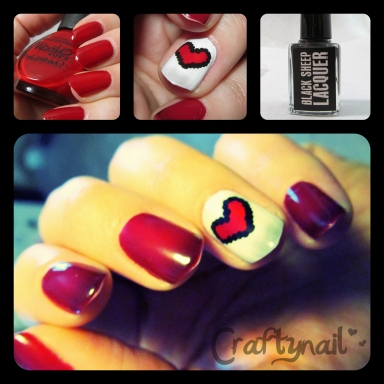 thermal hearts by craftynail