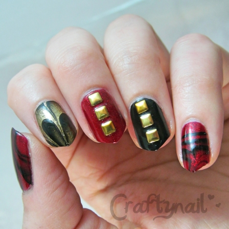 vaday nails for nail art contest