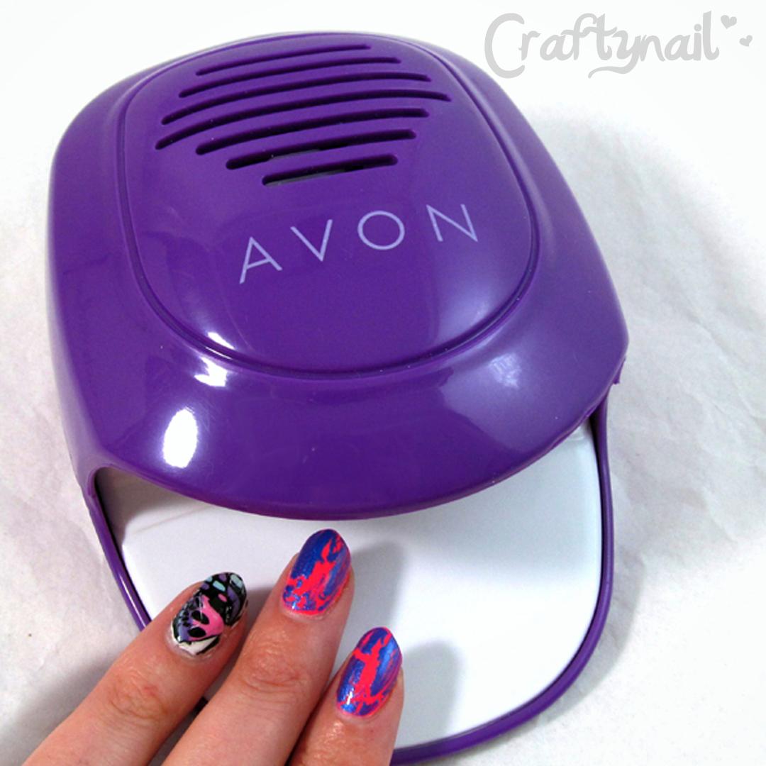 AVON Easy Press Nail Dryer | Craftynail