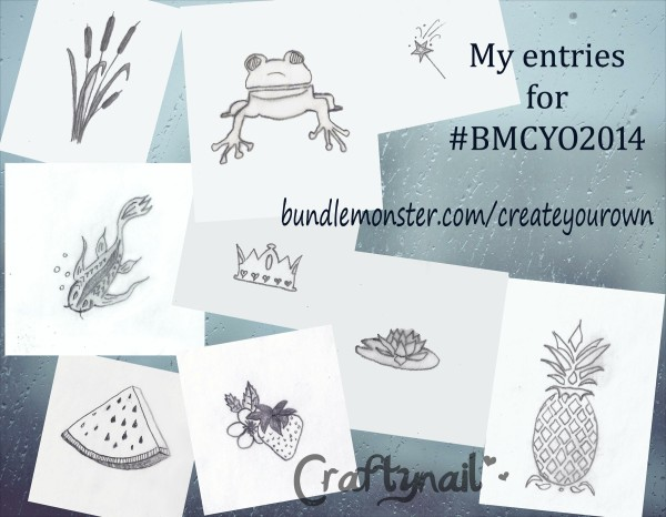 BMCYO2014 Craftynail entries