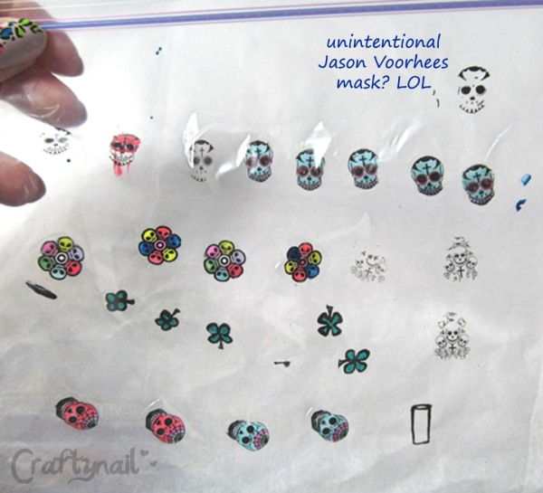 diy skull decals