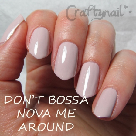 dont bossa nova me around