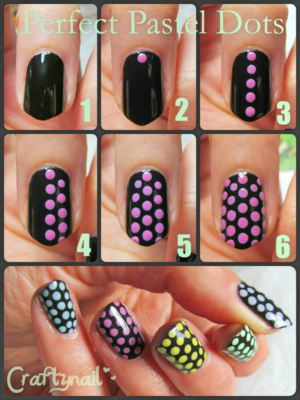 perfect pastel dots tutorial