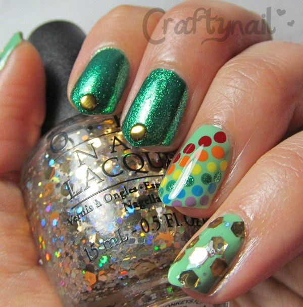 st pattys mix mani