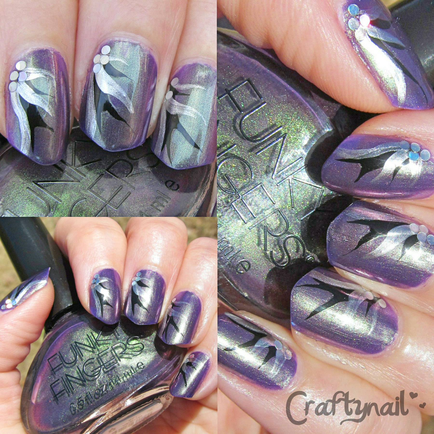 Funky Fingers Craftynail