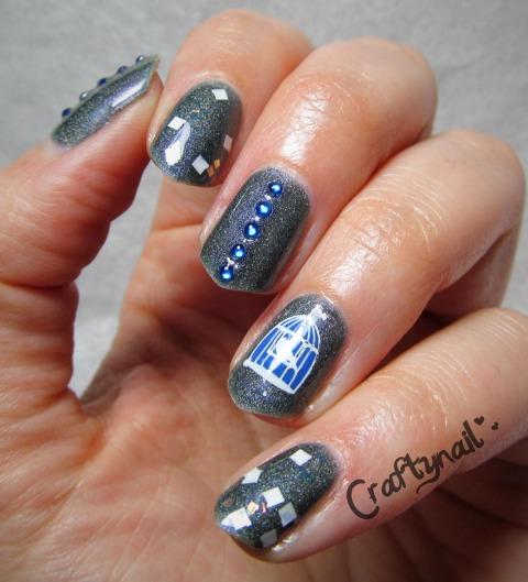 bird cage nails