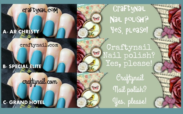 new font for Craftynail