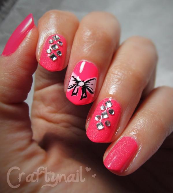 zoya ali rhinestone nail