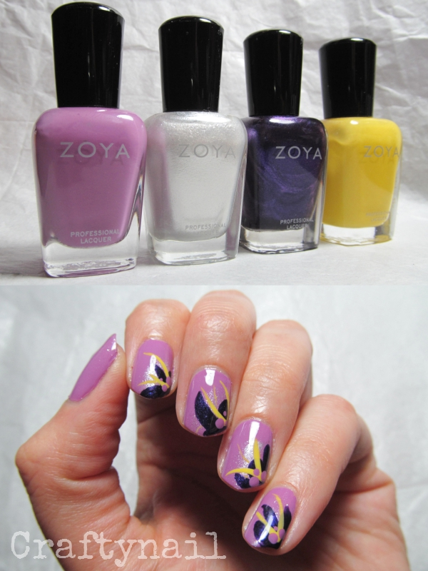 zoya orchid nails